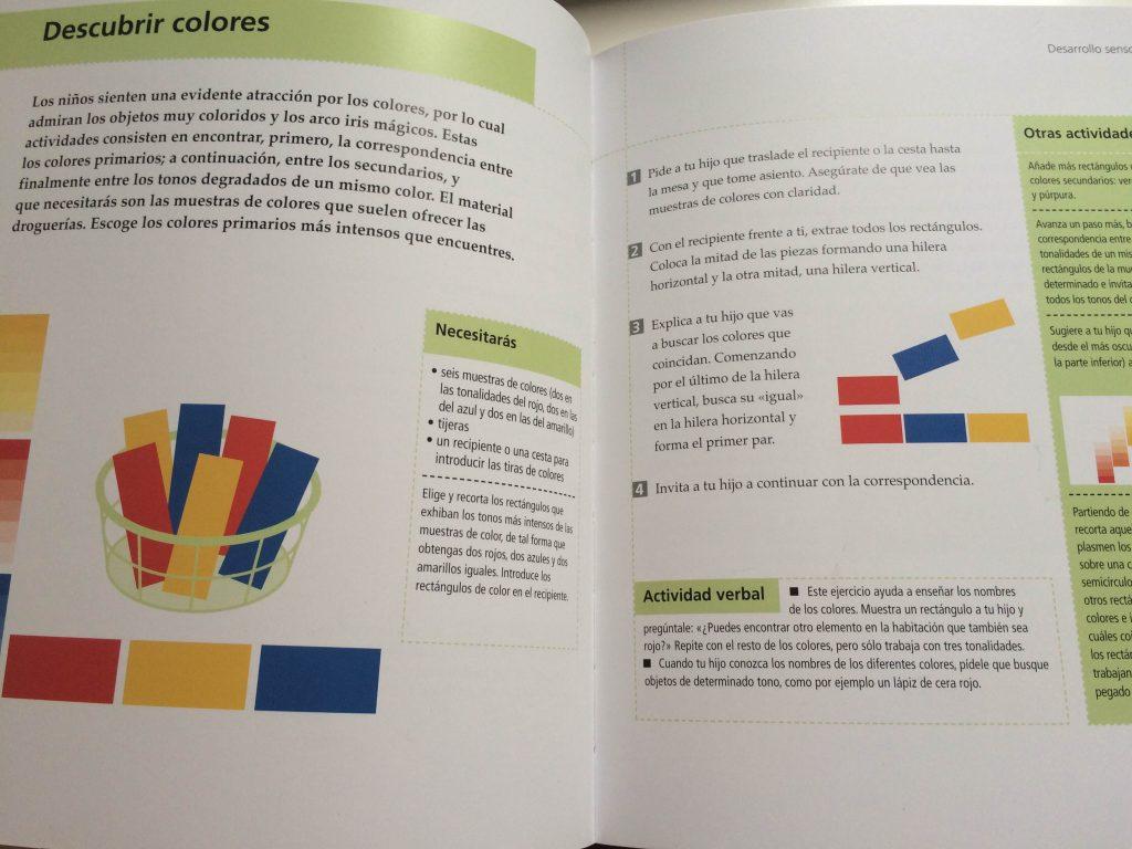 Detalle de las páginas interiores del libro