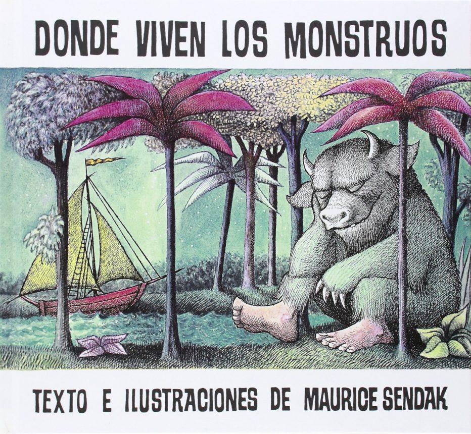 Blogue da biblioteca Onde viven los monstruos