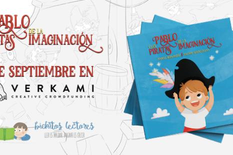 Pablo y los piratas de la imaginación, el 3 de septiembre en Verkami